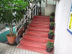 樓梯:樓梯加裝扶手、防護網及警示帶(三)